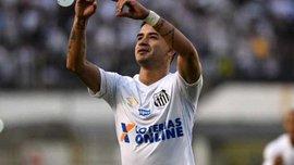 Дерліс Гонсалес забив третій гол поспіль за Сантос