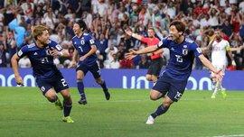 Японские футболисты после проигранного финала Кубка Азии убрали в раздевалке