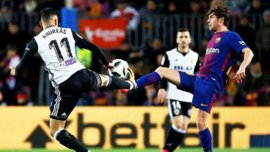 Барселона – Валенсия: прямая трансляция
