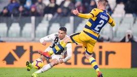 Парма спасла ничью в матче с Ювентусом, Роналду оформил дубль: 22-й тур Серии А, матчи субботы