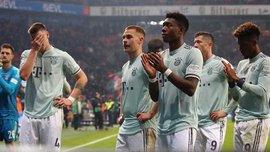 Байер – Бавария – 3:1 – видео голов и обзор матча