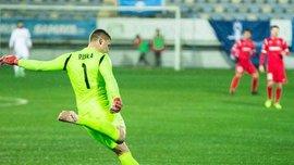 Рыбка оставил свои ворота в неприкосновенности в дебютном матче в чемпионате Азербайджана