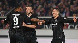 Соперник Шахтера Айнтрахт имеет самое лучшее нападение в Европе – они обогнали трио Ливерпуля
