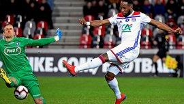 Кубок Франции: Лион обыграл Генгам и вышел в четвертьфинал турнира