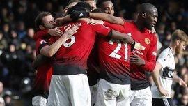 Фулхэм – Манчестер Юнайтед – 0:3 – видео голов и обзор матча