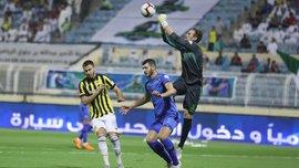 Аль-Фатех Коваля на последних минутах победил Аль-Шабаб