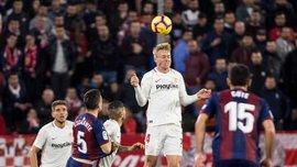 Севилья вырвала ничью с Эйбаром: 23 тур Ла Лиги, матчи воскресенья
