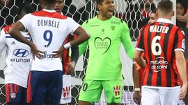 Лион неожиданно проиграл Ницце, Монако упустил победу над Монпелье: 24 тур Лиги 1, матчи воскресенья