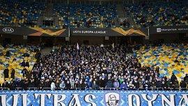 Ультрас Динамо и Айнтрахта устроили драку на Крещатике