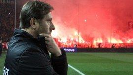 Олимпиакос может уволить главного тренера Мартинша