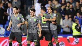 Реал Сосьєдад розгромив Леганес Луніна: 24 тур Ла Ліги, матчі суботи