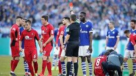 Шальке не сумел обыграть Фрайбург: жуткий фол на прямую красную не оставил Коноплянке шансов