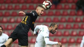 Кайсеріспор з Кравцем переміг Гезтепе – українець став найгіршим гравцем у своїй команді