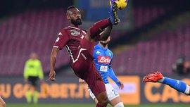 Наполі – Торіно – 0:0 – відеоогляд матчу