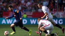 Севилья – Барселона – 2:4 –видео голов и обзор матча