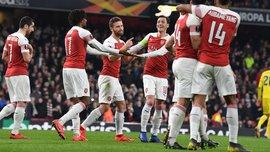 Арсенал – БАТЭ – 3:0 – видео голов и обзор матча