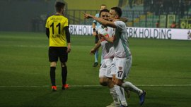 Коркішко відзначився голом за Хатайспор в чемпіонаті Туреччини – команда українця здобула перемогу