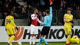 УЄФА дискваліфікував Ляказетта на 3 матчі та покарав Кондогбія за навмисне отримання жовтої картки