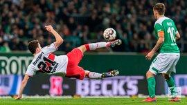 Вердер розписав результативну нічию проти Штутгарта