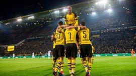 Феєричний гол Санчо у відеоогляді матчу Борусія Д – Байєр – 3:2