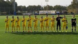 Украина U-17 сыграла в результативную ничью с ровесниками из Израиля