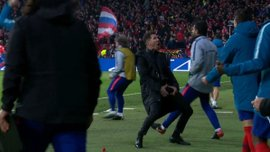В Италии игрока удалили за празднования в стиле Симеоне
