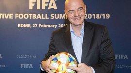Інфантіно назвав введення VAR на ЧС-2018 найбільшим досягненням ФІФА