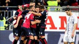 Кальяри – Интер – 2:1 – видео голов и обзор матча
