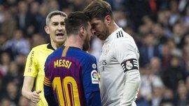 """Рамос против Месси – """"была кровь на губах"""": уволенный из Реала тренер и экс-судьи – за удаление, или Месть за Лео"""