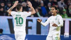 Вольфсбург та Вердер розписали результативну нічию: 24 тур Бундесліги, матчі неділі