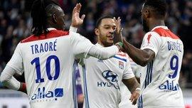 Марсель одолел Сент-Этьен, Лион забил 5 голов Тулузе: 27 тур Лиги 1, матчи воскресенья