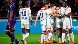 Лион – Тулуза – 5:1 – видео голов и обзор матча