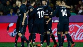 Вальядолид – Реал – 1:4 – видео голов и обзор матча
