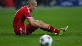 Роббен не поможет Баварии в матче с Ливерпулем, хотя хавбек накануне восстановился от травмы