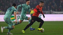 Ренн – Арсенал – 3:1 – видео голов и обзор матча