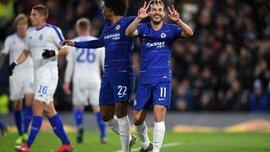 3 игрока Челси попали в сборную недели в Лиге Европы – Педро может стать лучшим