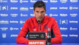 Пеллегріно: Сподіваюся, матч проти Атлетіко стане для Луніна успішним