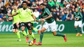 Лига 1: Сент-Этьен вдевятером уступил Лиллю, Марсель минимально переиграл Ниццу и другие матчи воскресенья