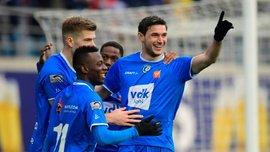 Гол Яремчука в видеообзоре матча Гент – Остенде