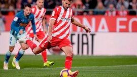 Форвард Жироны Стуани повторил рекорд Ла Лиги, забив пенальти в ворота Валенсии
