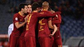Первая победа Раньери после возвращения в Рим в видеообзоре матча Рома– Эмполи