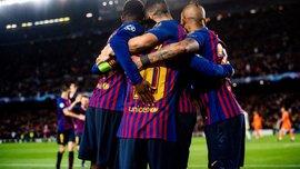 Барселона – Лион – 5:1 – видео голов и обзор матча