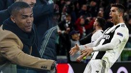 """Ювентус – Атлетіко: як Дуглас Коста приєднався до Роналду та познущався над Сімеоне непристойним """"жестом яйцями"""""""