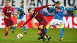 Зальцбург – Наполи – 3:1 – видео голов и обзор матча