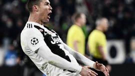 Роналду грозит дисквалификация на матчи 1/4 финала Лиги чемпионов