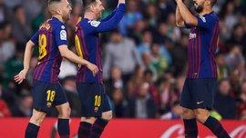 Бетіс – Барселона – 1:4 – відео голів та огляд матчу