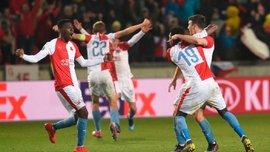 Славія – Челсі: божевільна реакція гравців чеського клубу на результати жеребкування чвертьфіналу Ліги Європи