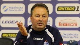 Червенков прокоментував розгромну поразку від Олександрії