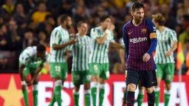 Бетис – Барселона: прямая трансляция матча