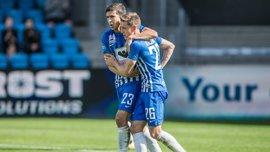 Яковенко забил гол за Эсбьерг в чемпионате Дании